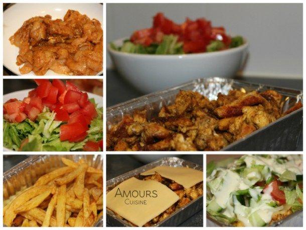 Een kapsalon is een gerecht bestaande uit friet bedekt met shoarma, afgetopt met kaas, even onder de grill gezet, zodat de kaas smelt, met bovenop salade. Vaak wordt de kapsalon geserveerd met knoflooksaus en sambal.
