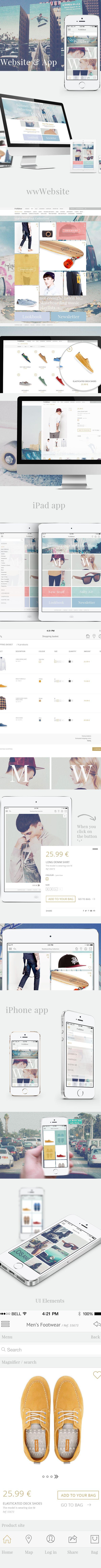 pull & bear website & app