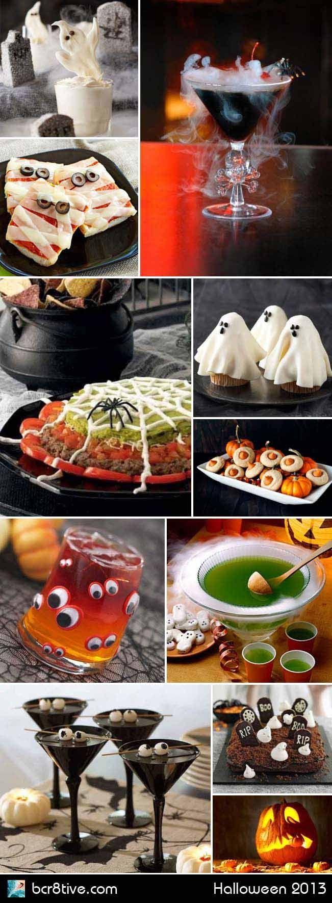 Creative halloween party ideas halloween treats for Creative ideas for halloween treats