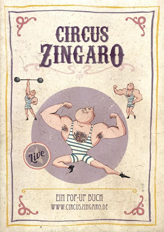 Circus Zingaro- Ein Pop-Up Buch