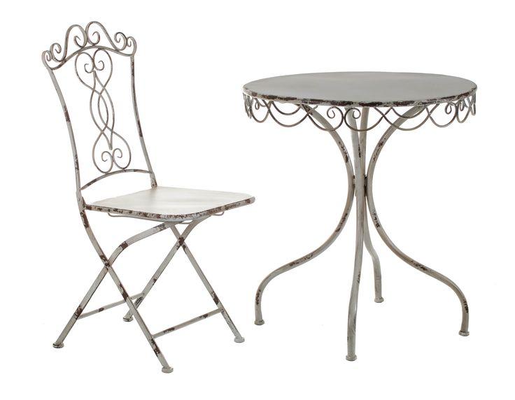 Stolik i rozkładane krzesło ALURO