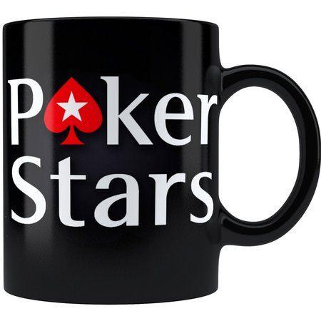 Caneca Poker Stars Alça Preta
