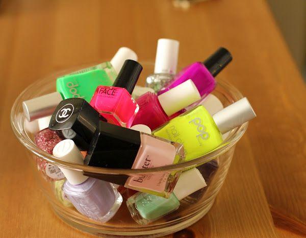 nail love.: Bowl, Fashion, Nail Polish, Style, Colorful Nails, Nailpolish, Colors, Beauty, Hair
