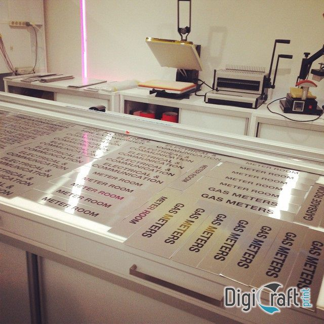 Digicraft design got you covered for all types of #signs. From #shopfront to #architectural. These #stainless steel door signs can be done with #vinyl lettering or #engraved and #paint filled. Over 200 signs ready for 5 storey building. Give us a call (02) 9567-4482 for your next signage project or visit our website : http://www.digicraftprint.com.au