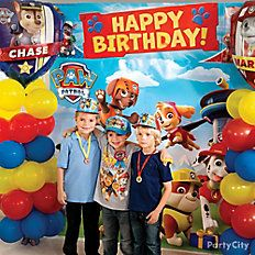 PAW Patrol Balloon Column-INSTRUCTIONS ON HOW TO MAKE A COLUMN OF BALLOONS