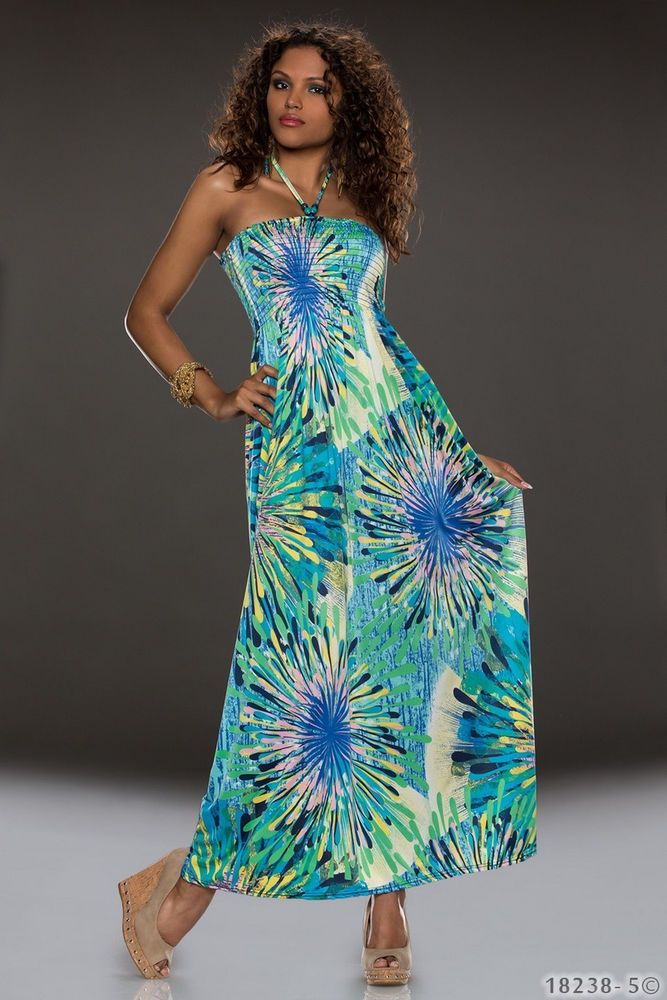 HOT Lady Floral Maxi Sexy Party Long Dress Sundress Summer #FASHIONWAVE #Maxi #Casual