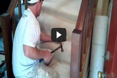 How to Lay Carpet on Stairs