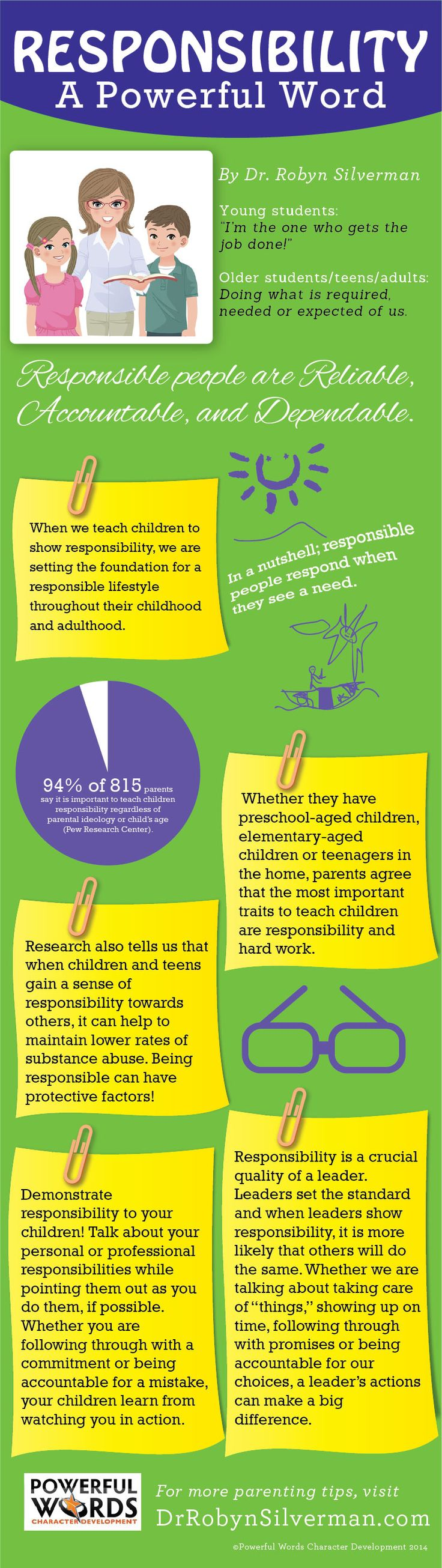 Teaching children about Responsibility