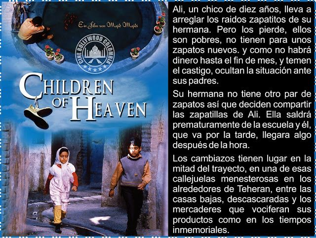 Cine Bollywood Colombia: CHILDREN OF HEAVEN