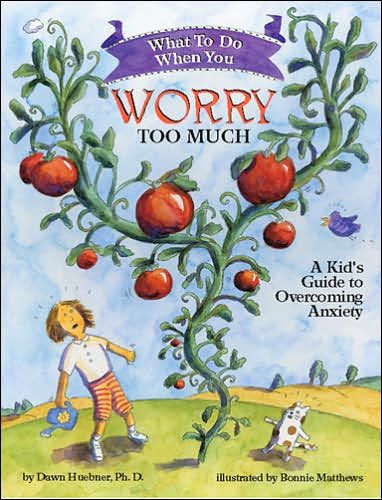 Huebner, D., & Matthews, B. (2015). What to do when you worry too much: a childs guide to overcoming anxiety. Gallo Manor, South Africa: Awareness Publishing Group. This book is a graphic novel that discusses what it means to be anxious, and then talks children through solving anxiety and worries. This book puts things into laymen's terms and uses great illustrations and analogies to explain worries. Ages 8-12.