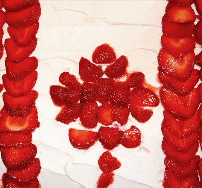 Happy Canada Day Cake Recipe from Baby Babkas