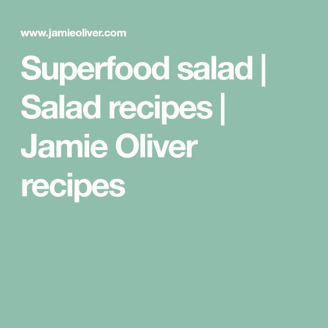 Superfood salad   Salad recipes   Jamie Oliver recipes