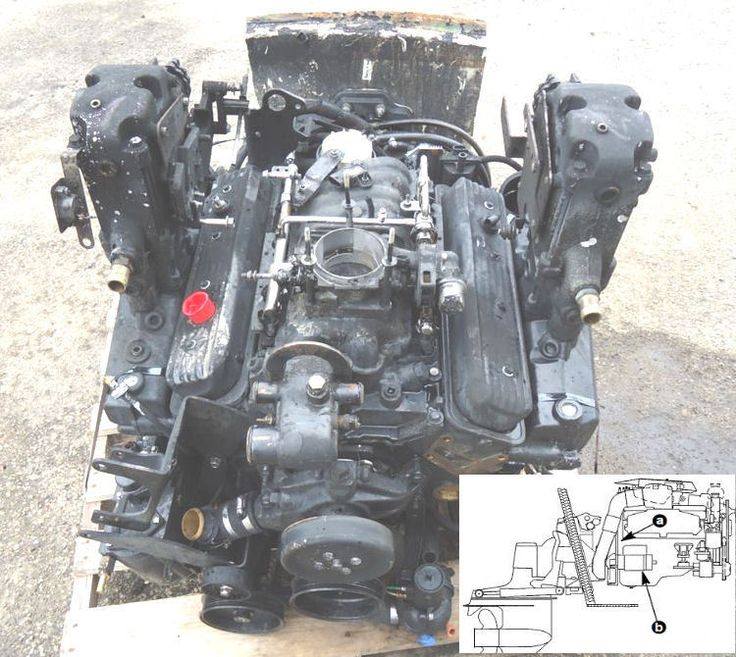 Details About Mercury Mercruiser Marine Engine Gm 305 350