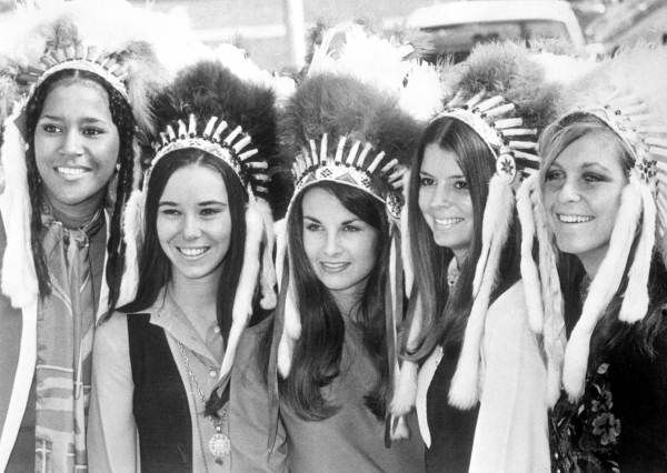 Florida Memory - Contestants for Florida State University homecoming queen