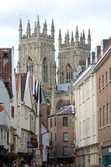 York 360. An invaluable site for whats on in York, and for recommended shops, bars and restaurants. (Pic:  Towers of York Minster)