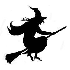 Resultado de imagem para silhueta bruxa caldeirão imprimir