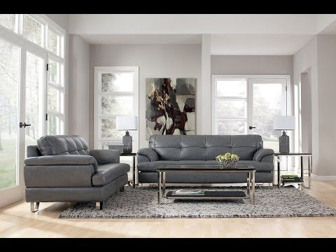 Grey Sofa Living Room Ideas Youtube Leather Sofa Decor Couch Decor Living Room Grey