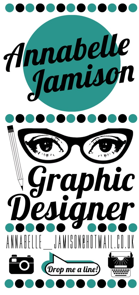Trying to design on my business card.