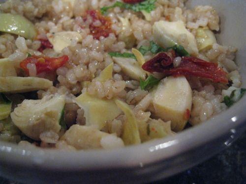 rice & artichoke salad | Food... nom nom nom | Pinterest