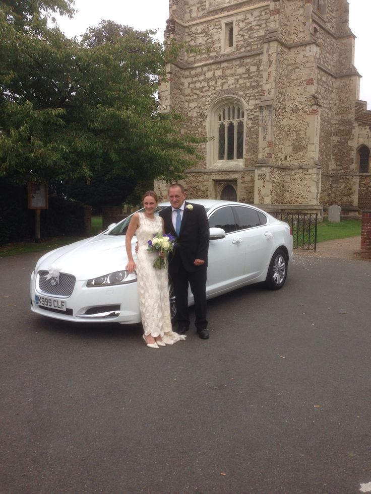 This is our XF Jaguar doing a wedding in Henlow Bedfordshire