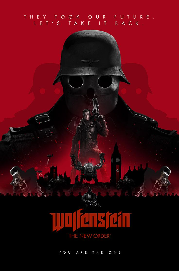 Geek Art Gallery: Posters: Wolfenstein: The New Order