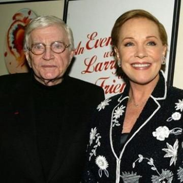 Julie Andrews & Blake Edwards-41 yrs  (yes, that Blake Edwards, producer & director with lots of power behind the scenes)