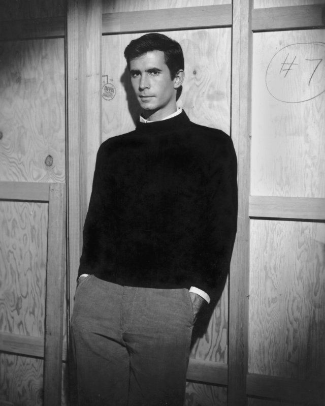 """Psycho"" Anthony Perkins 1960 Paramount"
