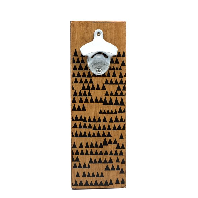 Easy way for your guests to always find the beer opener in your kitchen.   http://www.ahdpaperco.com/ahd-cards
