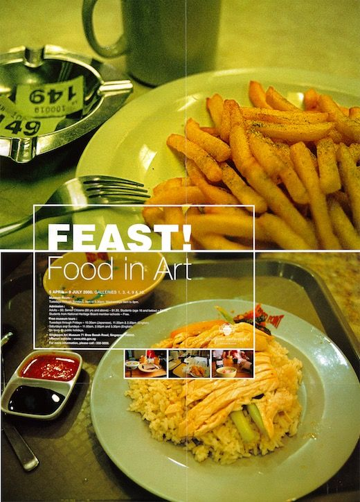 FEAST! Food in Art, 5 April to 9 July 2000, Singapore Art Museum