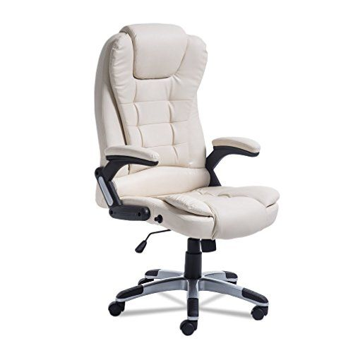 Ergonomic Executive Office Chair W Massage Function High Back Pu