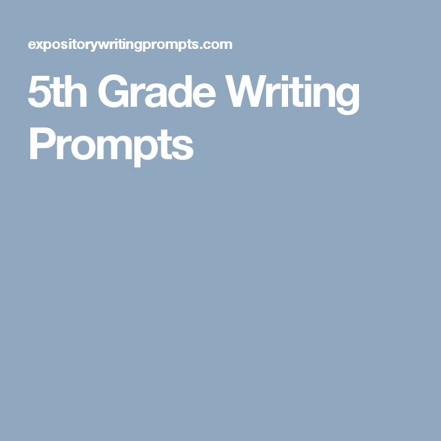 creative writing journal prompts 5th grade A large list of creative writing prompts, ideas, lists, and creative creative writing prompts and journal prompts are also appropriate for other grade.
