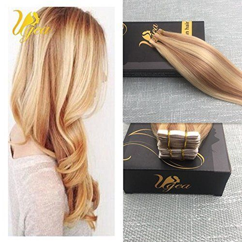 The 25 best glue in hair extensions ideas on pinterest diy hair 14 24 pinao strawberry blonde to bleach blonde remy tape in hair extensions pmusecretfo Choice Image