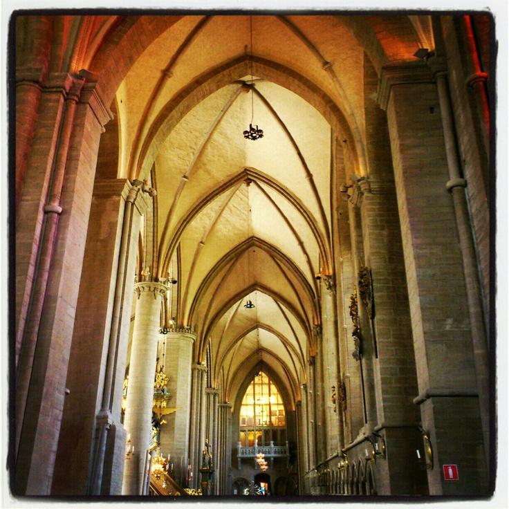 Inside Linkoping Cathedral, Sweden