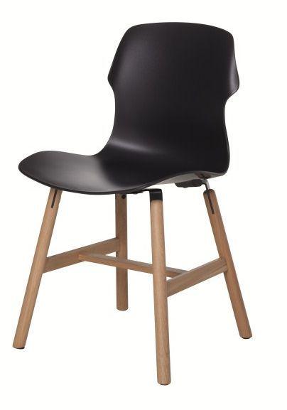 Stereo Wood stoel zwart - Casamania
