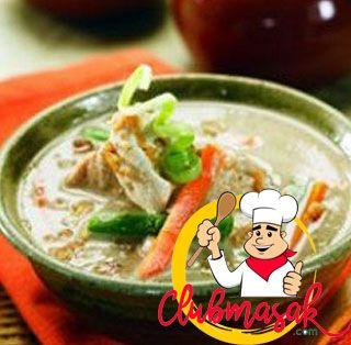 Resep Opor Sayur Ayam Cincang, Resep Nusantara, Club Masak