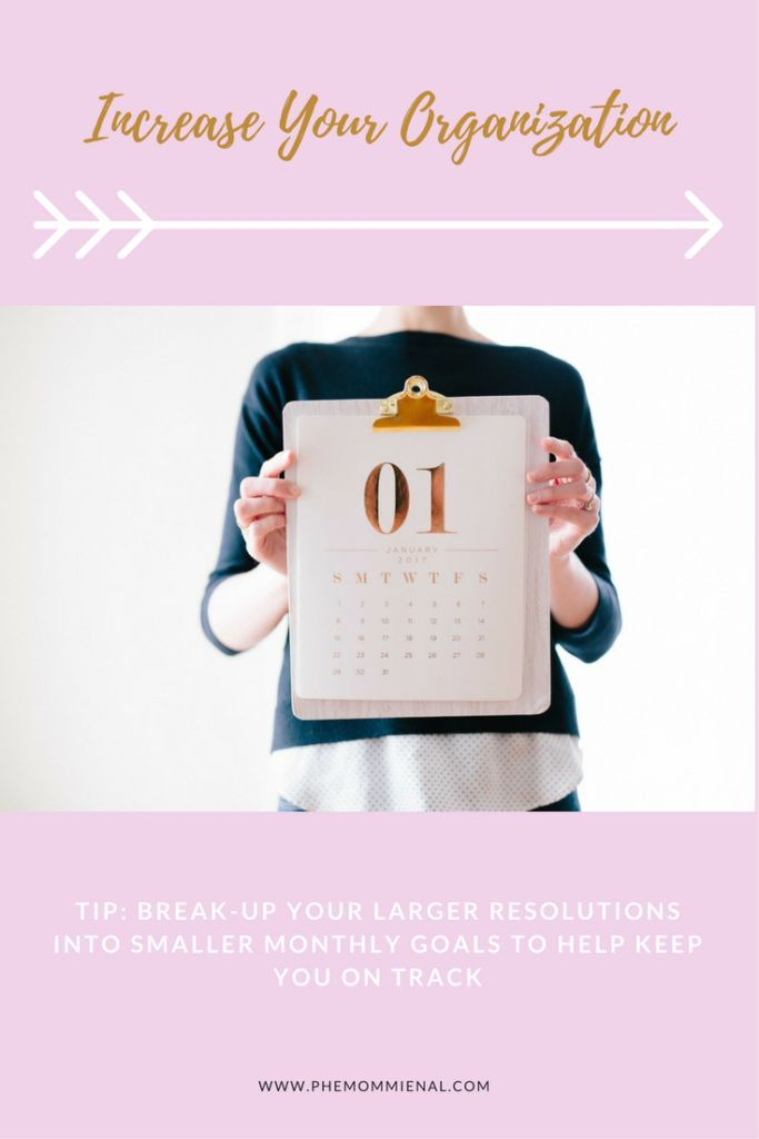 How to Increase Your Organization in 2018 - Business Organization - Blogging Goals - Blogging Organizational Goals - New Years Resolutions - #sponsoredguestpost #steelray.com