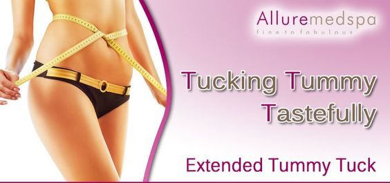 An extended tummy tuck is an extended abdominoplasty procedure that aims to improve the appearance of the abdomen by removing excess skin and fat from the abdominal area.