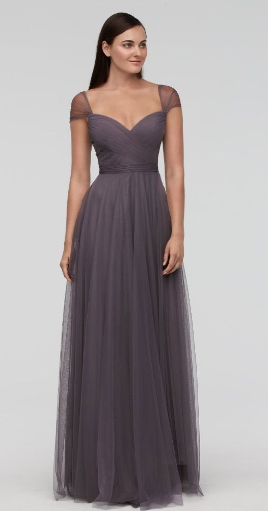 Featured Bridesmaid Dress: Courtesy of Watters; www.watters.com; Bridesmaid dress idea.