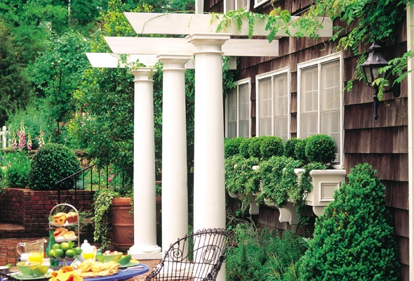 17 best images about doric columns on pinterest plant for Hb g permacast columns