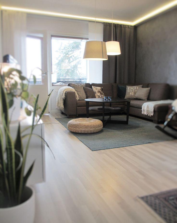 Livingroom in a city apartment, Finland, design by Jenni Koskela