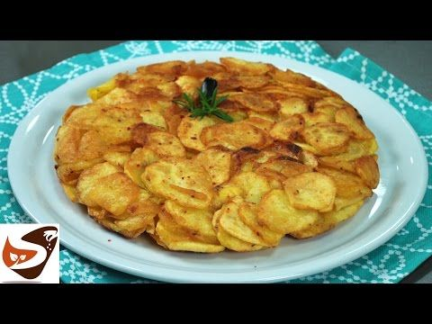 Frittata di patate, croccante e senza uova – Antipasti sfiziosi e semplici (tortino di patate) - YouTube