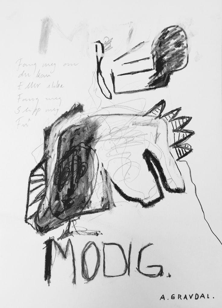 Modig: art, oil pastel, drawing, art on paper, kunst