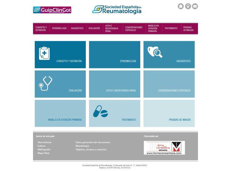 Guía práctica de la Gota de la Sociedad Española de Reumatología   Tanta, agencia digital