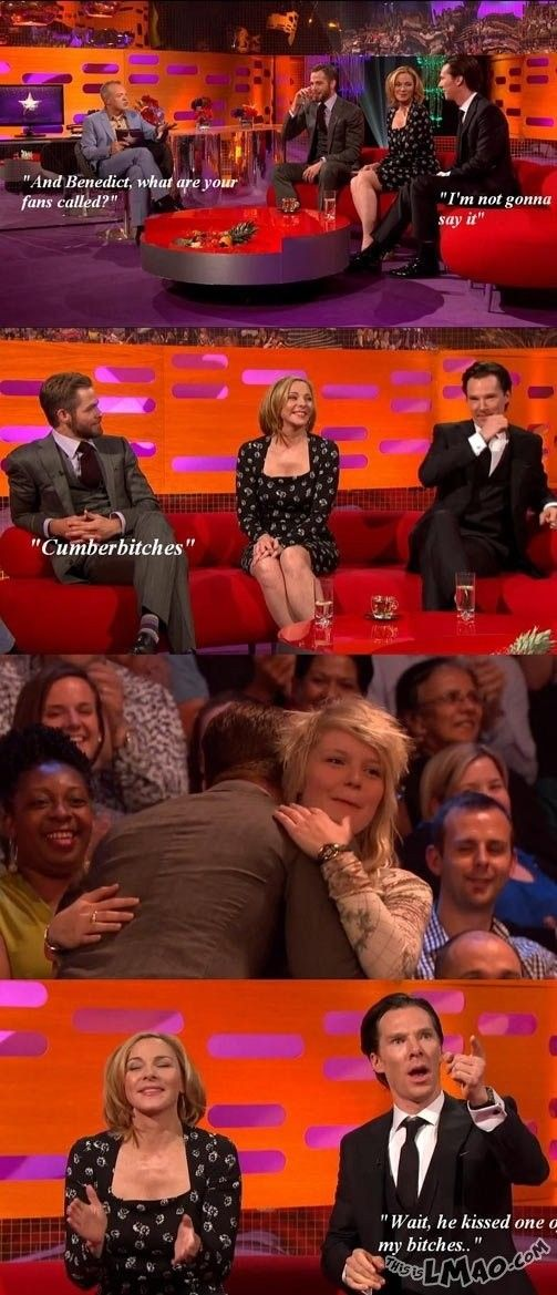 ROFL, this is funny Benedict Cumberbatch fans