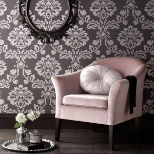 Graham & Brown 56 sq. ft. Grey Aurora Wallpaper 20-708 at The Home Depot - Mobile