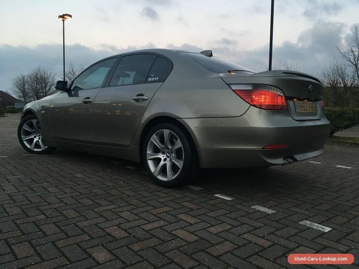 BMW E60 530D Auto (2keys - Folding rear seats) Spare or Repair #bmw #530d #forsale #unitedkingdom