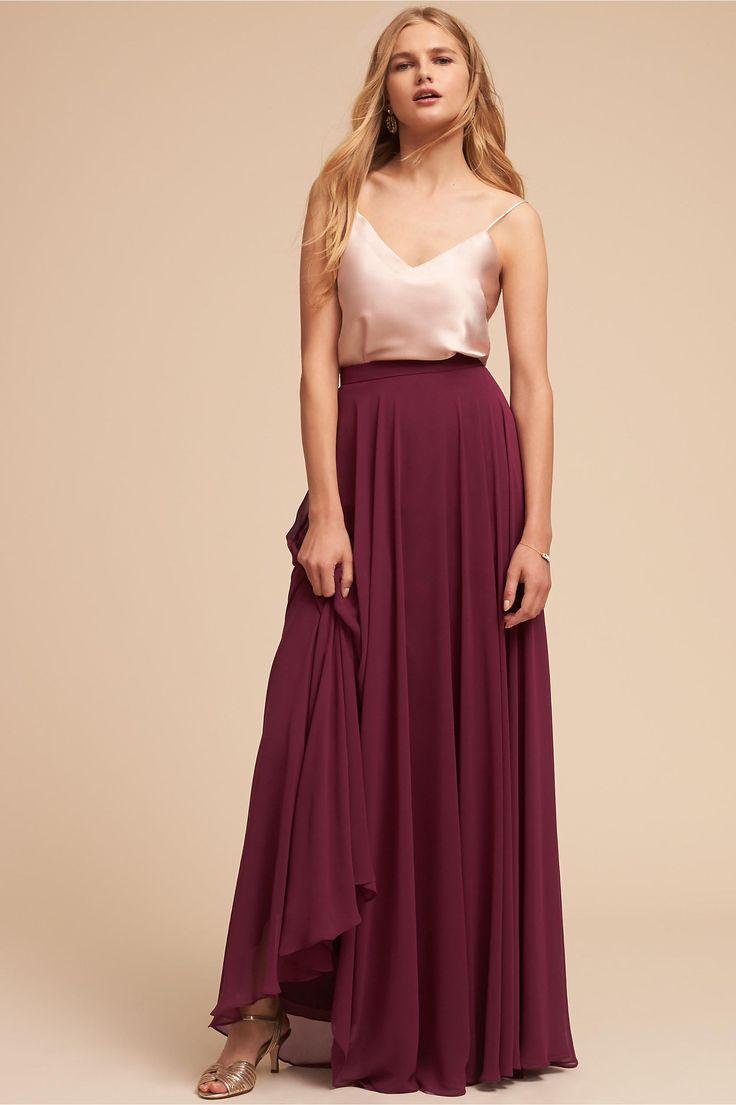 BHLDN Laurel Cami Top & Hampton Skirt  in  Bridal Party | BHLDN