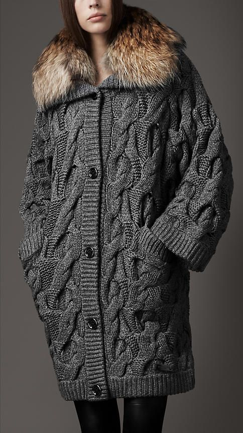 for those who knits - Burberry and knitting.