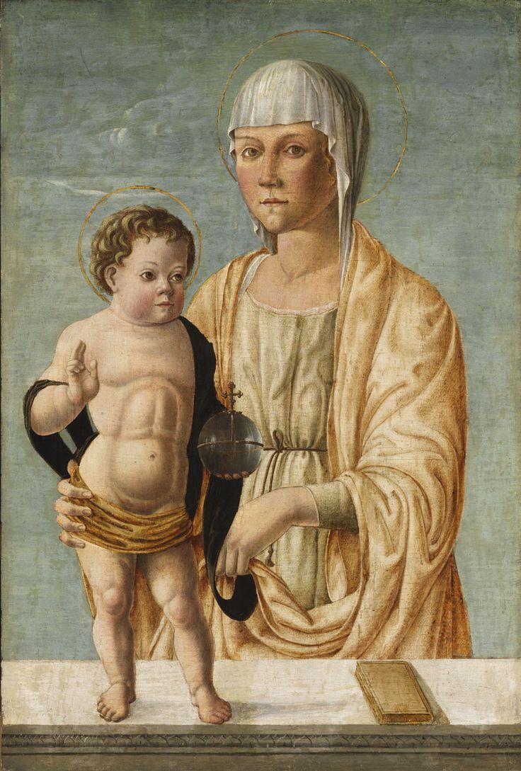Bono da Ferrara - Madonna and Child. The 15th century