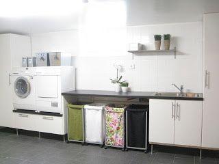 Villa Nystuga - Наши низкоэнергетические дома в сельской местности: Прачечная